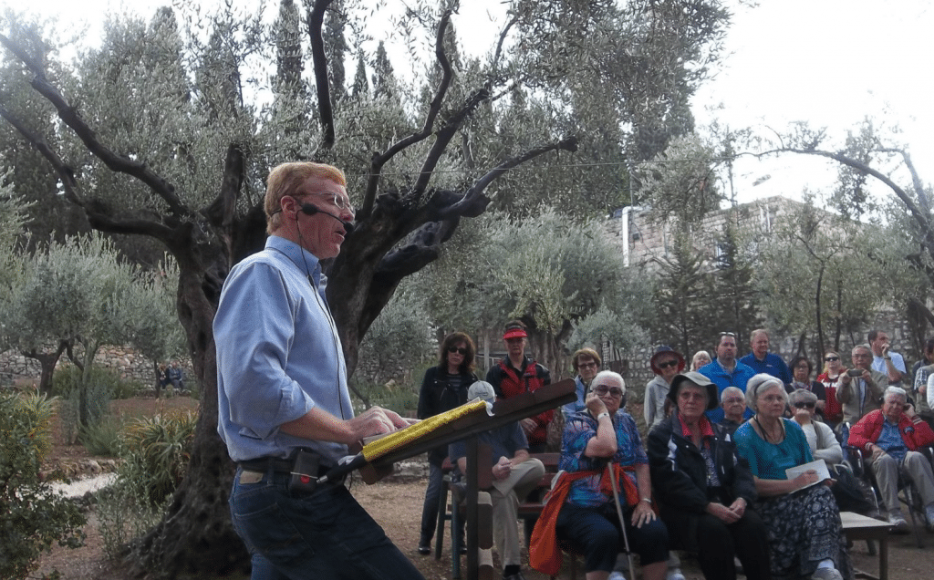 Garden of Gethsemane - Glenn Teaching